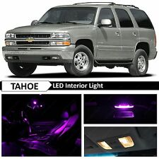 20x Purple LED Lights Interior Package Kit for 2000-2006 Chevy Tahoe Yukon
