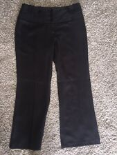 Next Petite Grey Bootcut Tailored Business Trousers UK 10