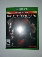 Metal Gear Solid V: The Phantom Pain (Microsoft Xbox One, 2015) TESTED