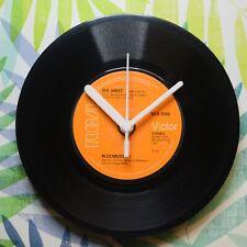 "The Sweet ""Block Buster"" Retro Chic 7"" Vinyl Record Wall Clock"