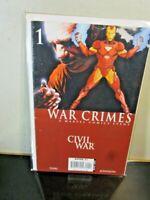 Marvel Comics Civil War War Crimes #1 Iron Man BAGGED BOARDED
