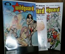 Wildguard: Casting Call by Todd Nuack all 6 issues signed