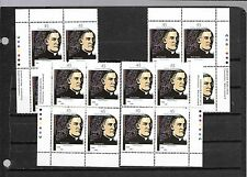 pk24271:Stamps-Canada #1637 Gadbois 45 ct Set of Plate Blocks - MNH