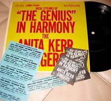 "The Anita Kerr Singers – Genius In Harmony JUKEBOX 7"" 33 MINISLV STRIPS STEREO"
