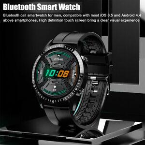 Smart Watch Fitness Tracker Blood Pressure Heart Rate Women Men Sport Watches