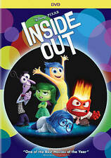Inside Out (DVD DISC ONLY, 2015) NO ARTWORK