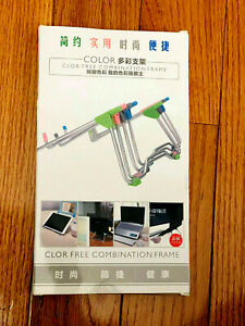 Color Clor Free Blue Combination Frame iPad Laptop iPhone Tablet Phone Mac Stand