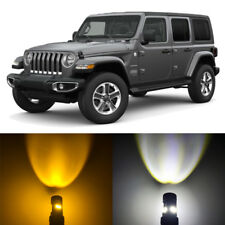 Switchback LED Parking Signal Light + Resistors for 2018 Jeep Wrangler JL Sport