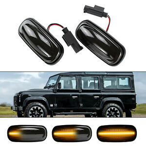 Dynamic Side Marker LED Side Indicator Repeater For Land Rover Dynamic