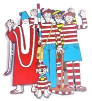 Where's Waldo Wheres Odlaw Jumbo Fantasy Hat Jacket Tie Tack Lapel Pin