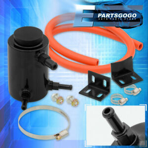 """3"""" Round Cylinder Power Steering Fluid Reservoir Can Oil Catch Tank Performance"""