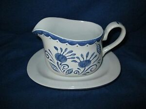 Corelle Mediterranean GRAVY BOAT w/Underplate have more pieces to this set