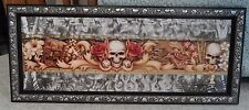 "Dennis Mathewson ""SKULL DRAGON"" Art on Metal-Airbrush-Hawaii-Hawaiian"