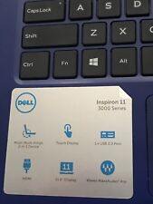 Dell Inspiron 11 Touchscreen Pentium N3710 Quad-core 1.6ghz 4gb