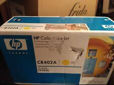 Original HP tóner CB402A HP 642A LaserJet cp4005 Nuevo AMARILLO CLOSED BOX
