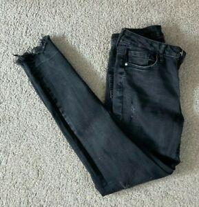 Ladies Denim Co. Jeans. Size 10 x 28. Black. FREE P+P