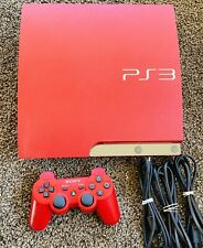 Sony PlayStation 3 PS3 Slim 320GB Scarlet Red Console *FAST FREE* Shipping