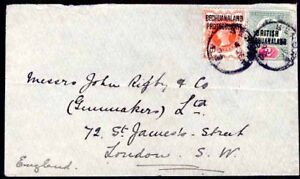 Bechuanaland Protectorate 1905 cover/½d/Bechuanaland 2d