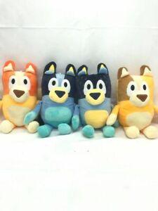 Bluey 30cm Plush Soft Toy 4 Set Bingo Bandit Chilli Stuffed Plushie MELBOURNE ST