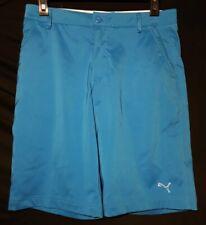Puma Golf Shorts Youth Size 30 Blue