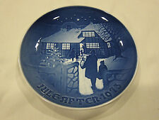 "Collectible Bing and Grondahl ""Country Christmas"" Decorative Plate from 1973"