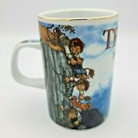 Troll Norge Porcelain Mug Rolf Lidberg Made in Norway
