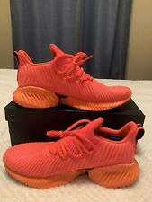 Adidas Alphabounce Instinct Men's Running Shoe Size 8.5 Orange (BB7507) NWB