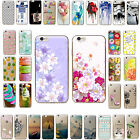 Etui Housse Coque Thin Case Cover Pattern TPU Soft  Fit iPhone 5s SE 6 6s 7 Plus