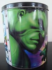 Marvel Comics Incredible Hulk Empty Popcorn Tin, Houston Harvest 2003
