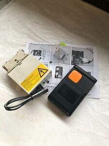 Handsender Fernbedienung 433,92 MHz Tormatic HS43-1E/Dorma HS43-1E mit Empfänger