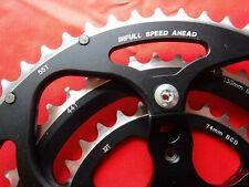 FSA Carbon Pro Octalink Tandem Triple 55-44-32T Spider & Chainrings 9 Spd  bike