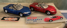 Lot of 2 Motor Max & Corvette Collection Corvette Sting Ray III s.1:24 Die-cast