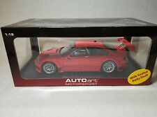 AUTOArt 1/18 Scale BMW M3 GTR Nürburgring 2005 Red Racing Car Diecast Model