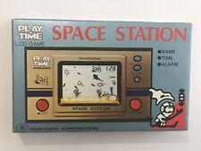 Thumb Power Space Station Masudaya LCD Handheld Game Watch 1982 New Old Stock