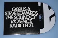 Cassius & Steve Edwards - The sound of violence. CD-Single radio promo