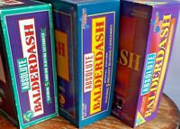 ABSOLUTE BALDERDASH BOARD GAME - SPECIAL EDITION / 20TH ANNIVERSARY /1990S 1980s