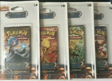 Pokemon - Lot 4 boosters sous Blister XY11 Offensive Vapeur (4 illustrations) FR