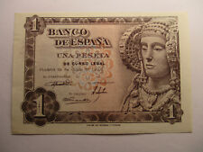 BILLETE DE 1 PESETA   DE 1948  SERIE K