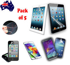 5X Screen Protector for Samsung S5 4 3 Note iPhone 6 6S Plus 5 5S 5C 4 iPad iPod