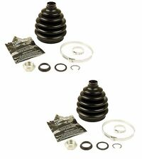 For VW Cabrio Golf Jetta Passat Audi 2 Front Outer CV Joint Boot Kit CRP
