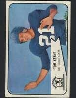 1954 Bowman #72 Tom Keane NM/NM+ SP Colts 77853