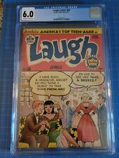 LAUGH COMICS #58, CGC FN 6.0 Woggin-a on Katy Keene, Archie Pubs. (1953)