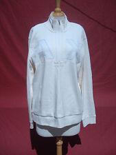 A/X Armani Exchange White Cotton Men's Sweatshirt Jacket  Sz L