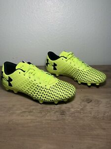 Under Armour Kids CF Force 3.0 FG Rubber Molded Jr Sz 3.5Y Soccer Cleats