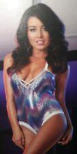 Dreamgirl Blacklight Entertain You Sequin Teddy Size L, Dancer, Costume