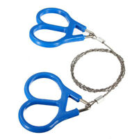 60cm Wire Outdoor Saw Rope Stainless Steel Survival Huntin Camping Hiking H6P2
