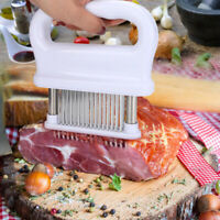 Meat Marinade Tenderizer Needle Injector Steaks Cook Kitchen Sauces Tool