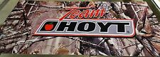 Team Hoyt Banner Full Color Vinyl Bow Shop Display Graphics Sporting Goods Cave