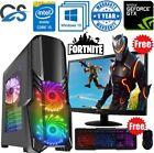 Gaming Pc Computer Bundle Intel Quad Core I5 16gb 1tb Windows 10 6gb Gtx1660 ✅