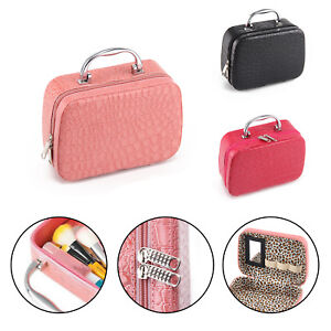 Professional Large Make Up Bag Vanity Case Cosmetic Tech Cosmetic Box
